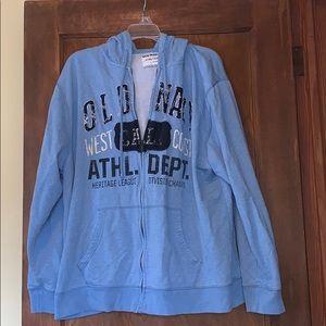 Men's old navy zip up hoodie xxl